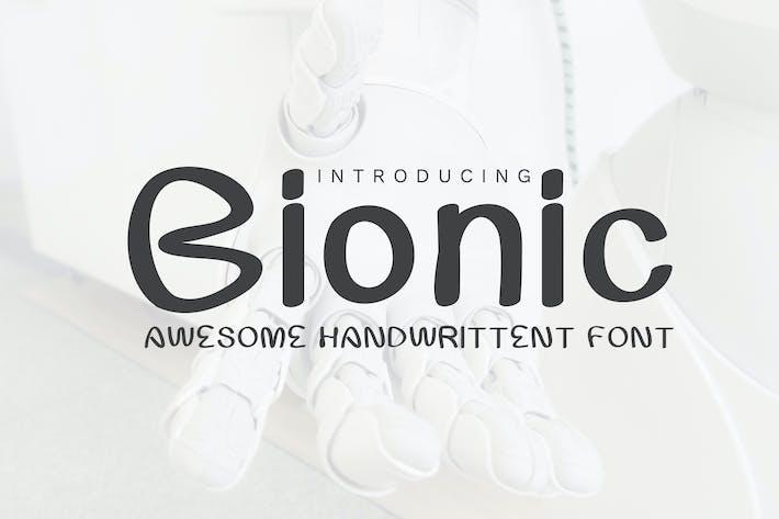 Thumbnail for Bionic Font