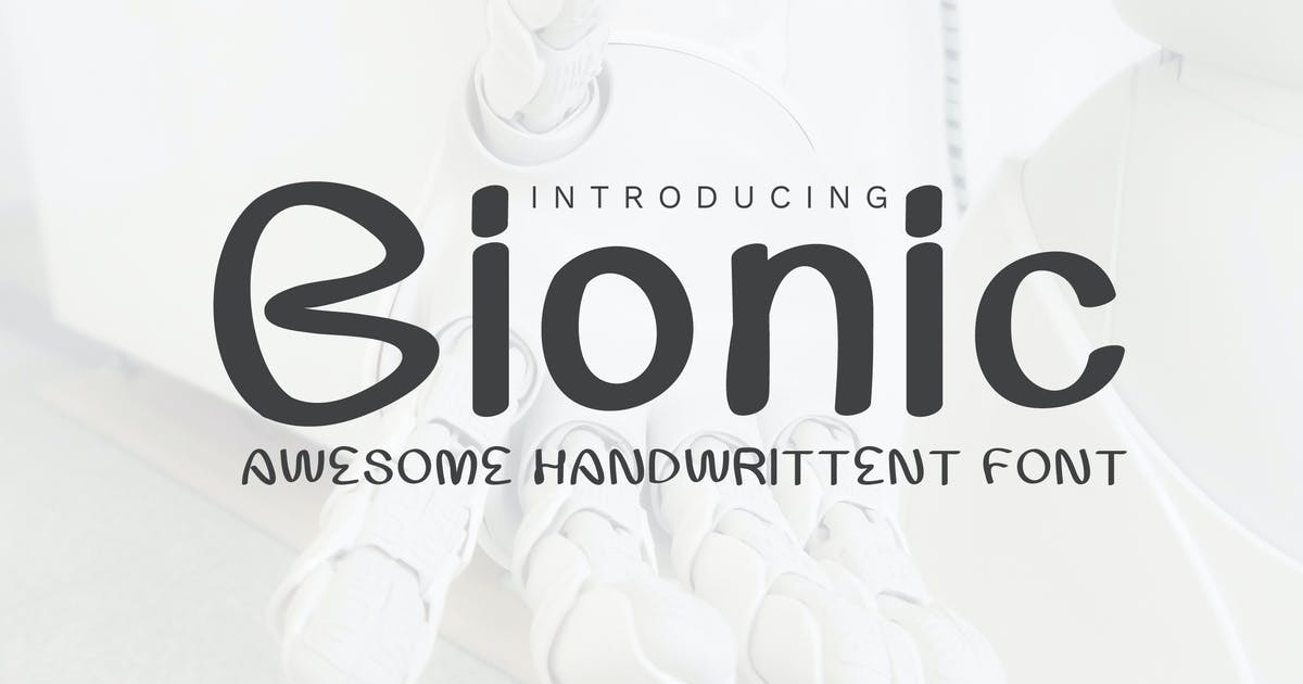 Download Bionic Font by afahmy