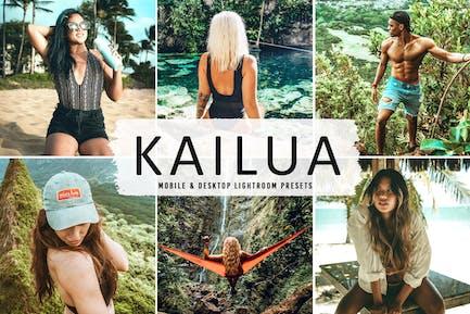 Kailua Mobile & Desktop Lightroom Presets