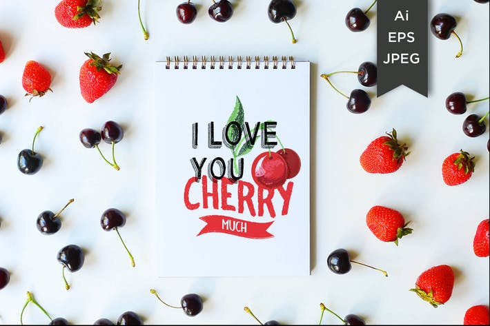 Cover Image For i love you cherry much