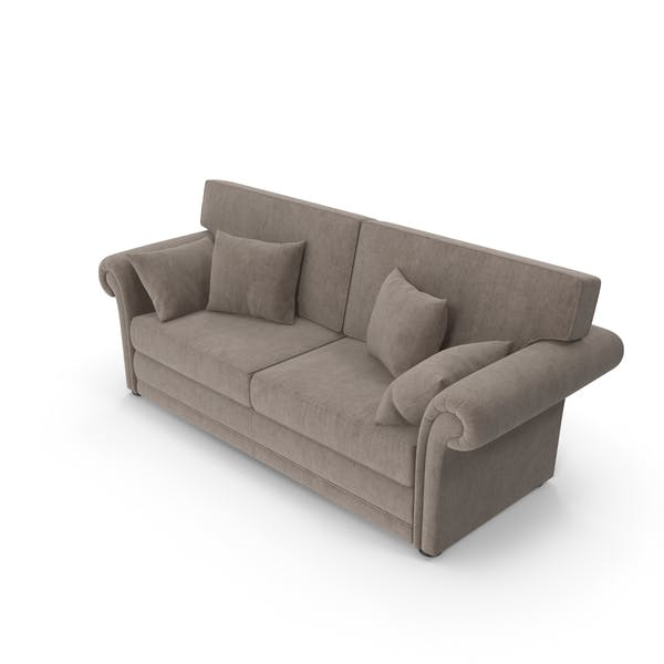 Thumbnail for Velvet Classic Sofa