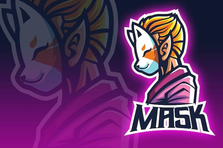 Thumbnail for Japanesse Masked Boy Esport Logo