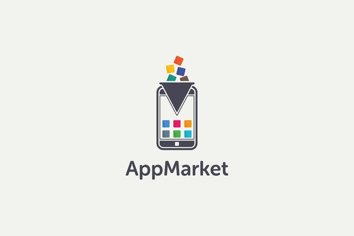 Thumbnail for App Market Logo Template