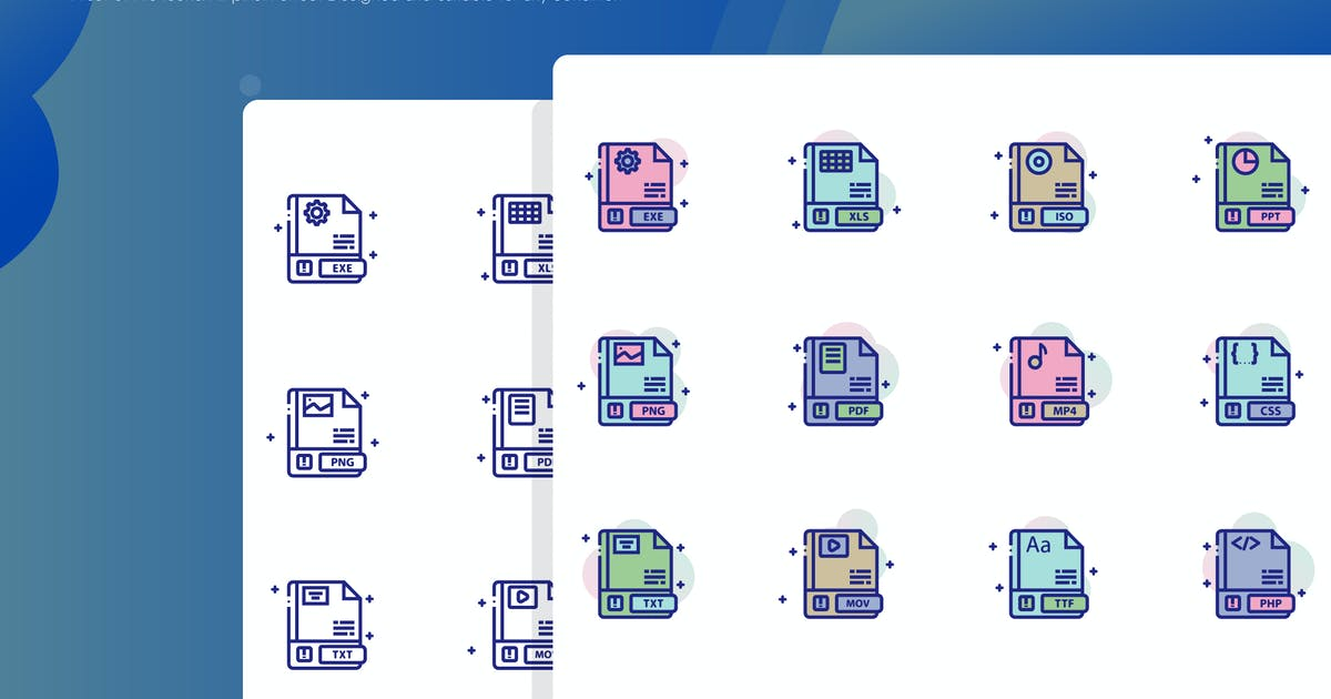 Download File Icon Pack by inspirasign