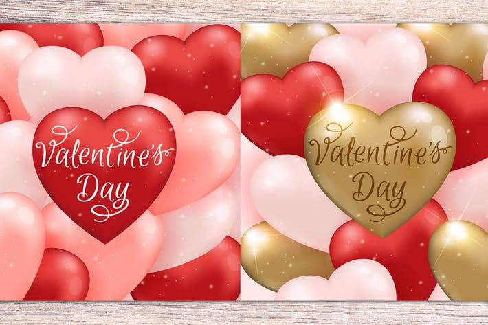 Thumbnail for Romantic Valentine Backgrounds
