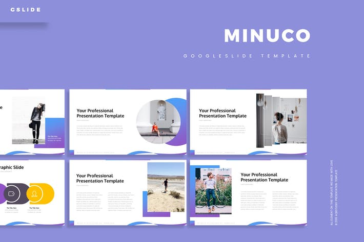 Cover Image For Minuco - Google Slide Template