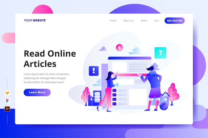 Thumbnail for Read Online - Landing Page