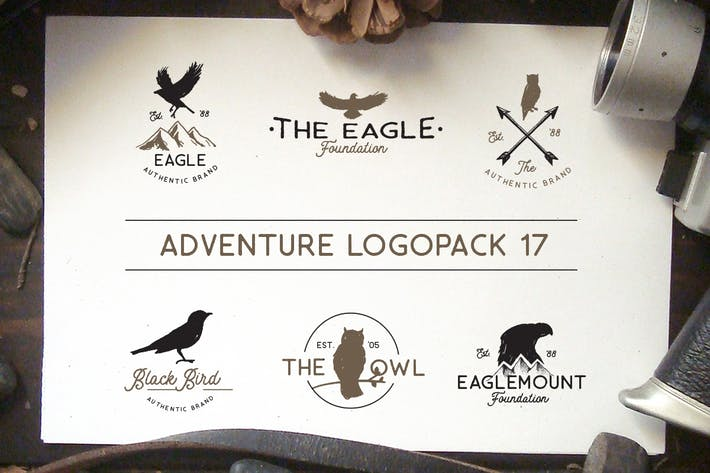 Thumbnail for Adventure Logopack Vol. 17