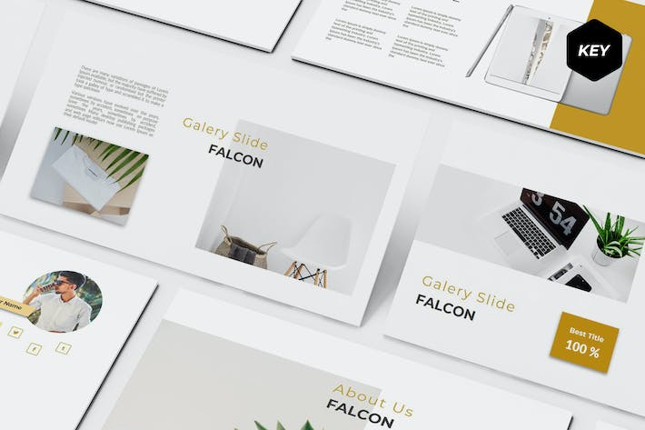 Thumbnail for Falcon - Keynote Template