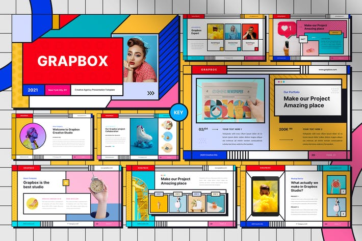 Grapbox - Creative Keynote Template