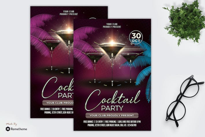 Thumbnail for Cocktail - Party Flyer MR