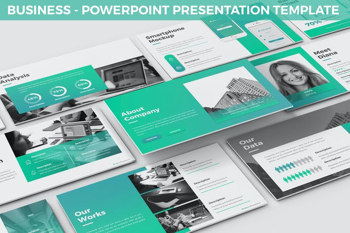 Thumbnail for Business - Powerpoint Presentation Template