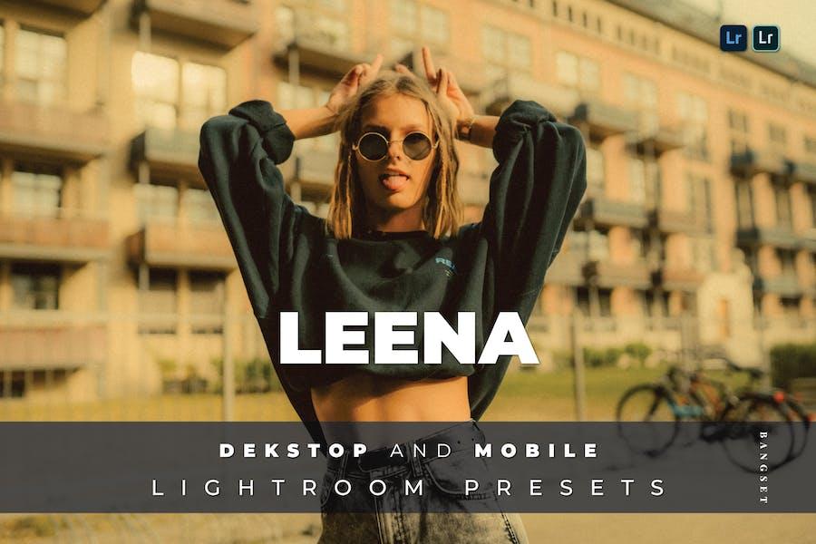 Leena Desktop and Mobile Lightroom Preset