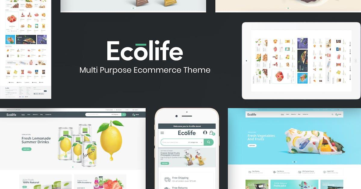 Download Ecolife - Organic WooCommerce WordPress Theme by Plaza-Themes