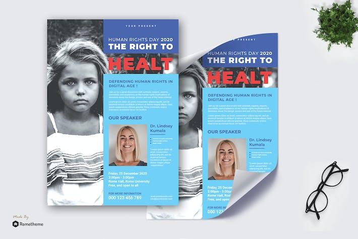 Thumbnail for Menschenrechtskampagne vol.01 - Poster TY
