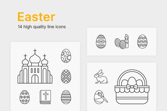 Thumbnail for Easter Icons