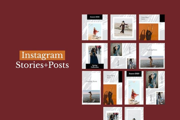 Thumbnail for Messages Instagram + Histoires (Vol.15)