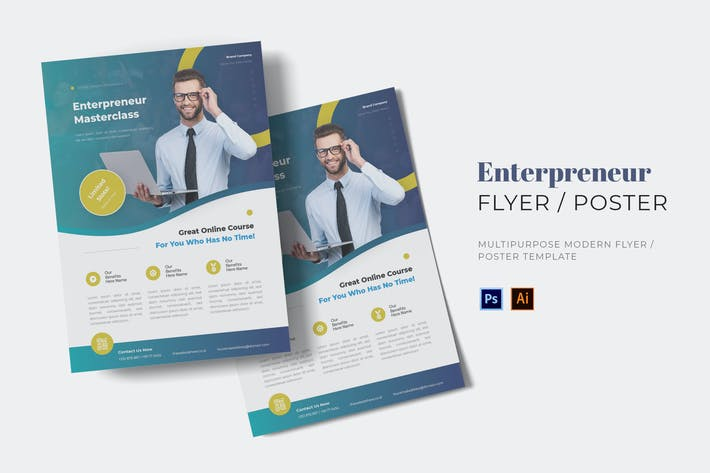 Thumbnail for Enterpreneur Flyer
