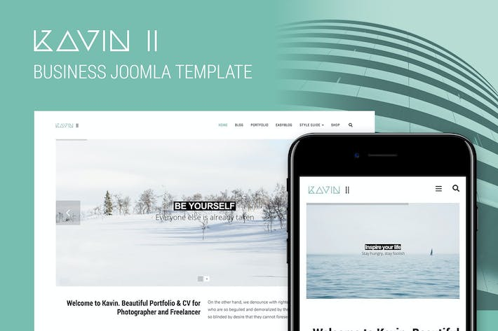 Kavin II - Business Joomla Template