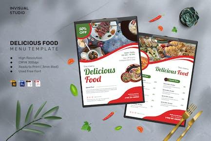 Delicious Food - Food Menu