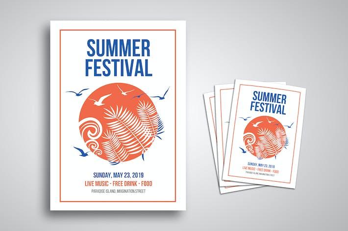 Thumbnail for Summer Festival Flyer
