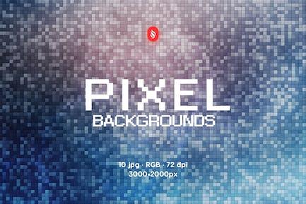 Pixels Backgrounds