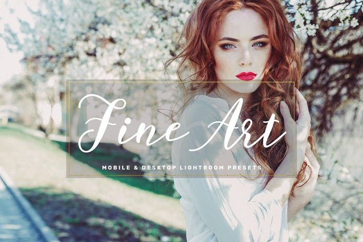 Thumbnail for Fine Art Mobile & Desktop Lightroom Presets