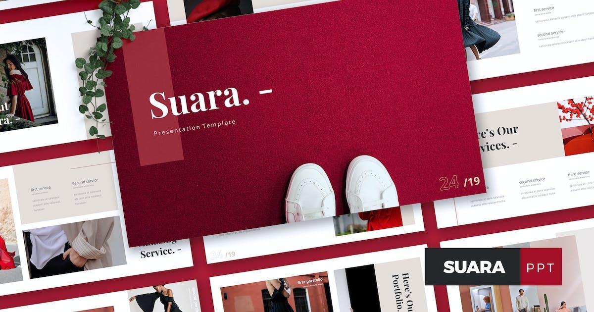 Download SUARA - Fashion Powerpoint Template by RahardiCreative