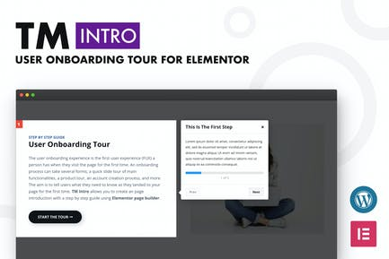 TM Intro- User Onboarding Tour Addon For Elementor