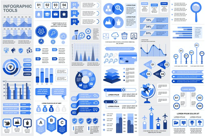 Thumbnail for Infographics Chart Diagram Timeline