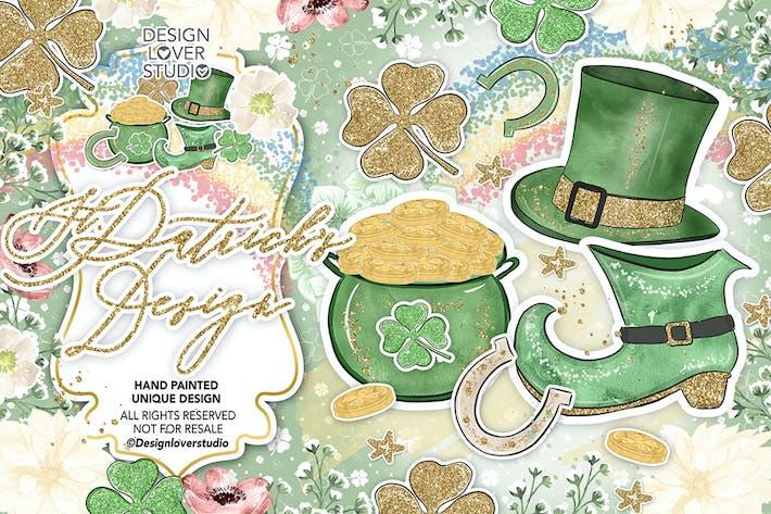 Thumbnail for st. Patrick day design