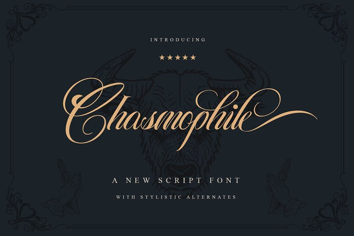 Thumbnail for Chasmophile Decorative Script