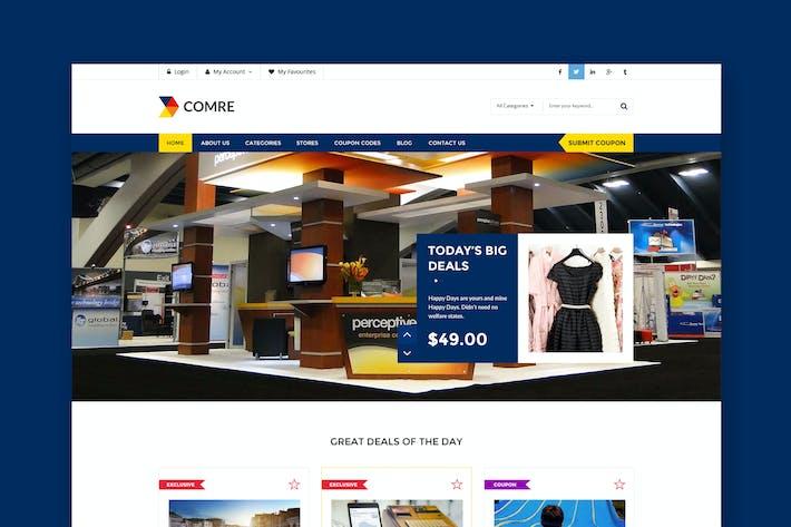 Thumbnail for Comre - Plantilla HTML de Cupones y Ofertas