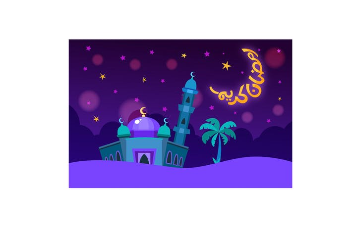 Thumbnail for Ramadan Kareem Mosque Background