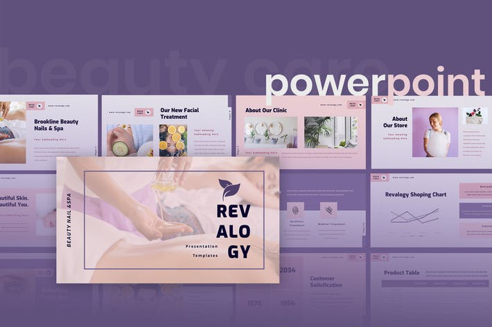 Thumbnail for Revalogy - Spa & Beauty Care Powerpoint