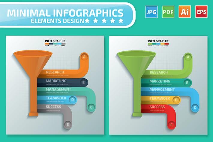 Thumbnail for Funnel Infographics-Design