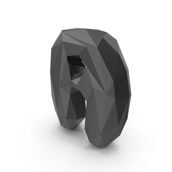 Thumbnail for Low Poly Bubble Letter A