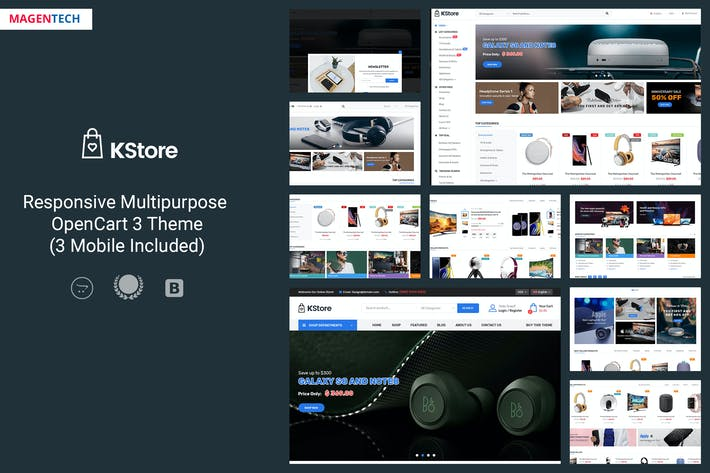Thumbnail for KStore - Multipurpose OpenCart 3 Hi-Tech Theme