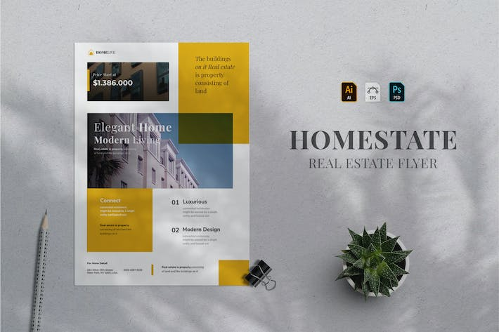 Thumbnail for Real Estate Flyer 10