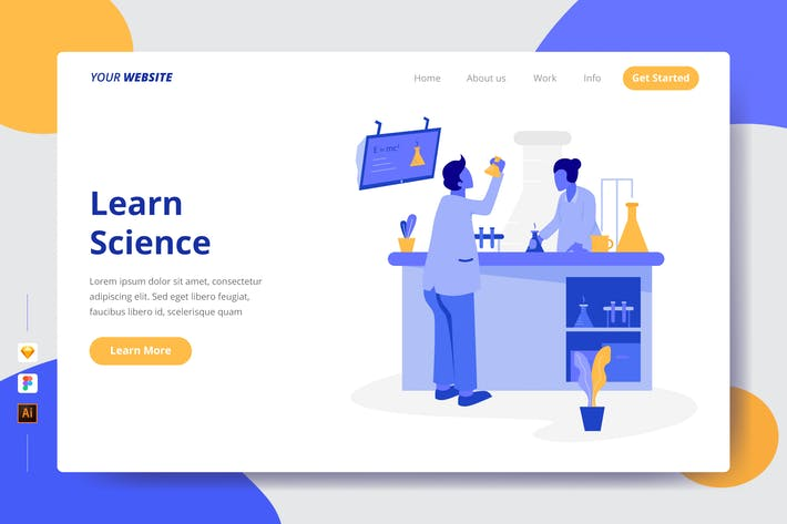 Thumbnail for Learn Science - Landing Page