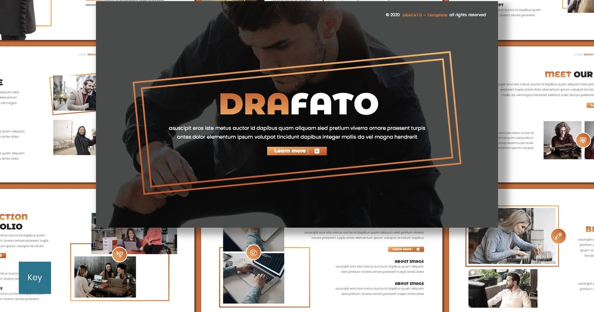 Download Drafato - Creative Keynote Template by inspirasign