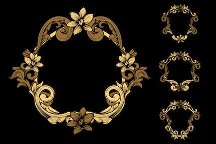 Ornament-Abzeichen