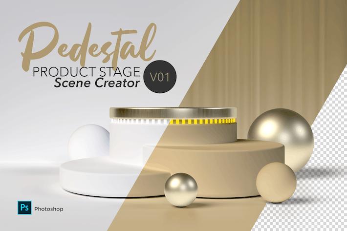 Thumbnail for Pedestal Scene Creator V01