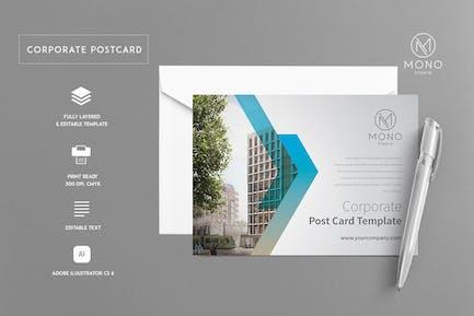 Corporate Postcard Template 1
