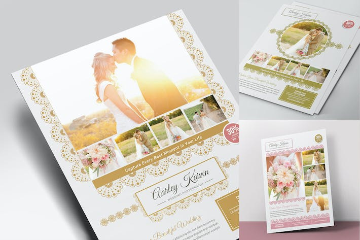 Thumbnail for Lace Wedding Photography Flyer