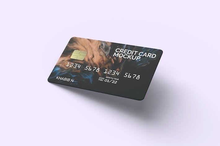 Thumbnail for Realistische Kreditkarten-Mockup-Vorlage