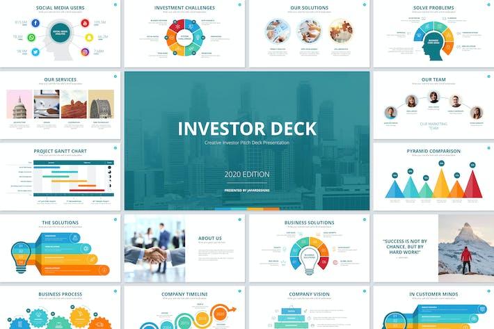 Thumbnail for PowerPoint Vorlage für Investor Deck