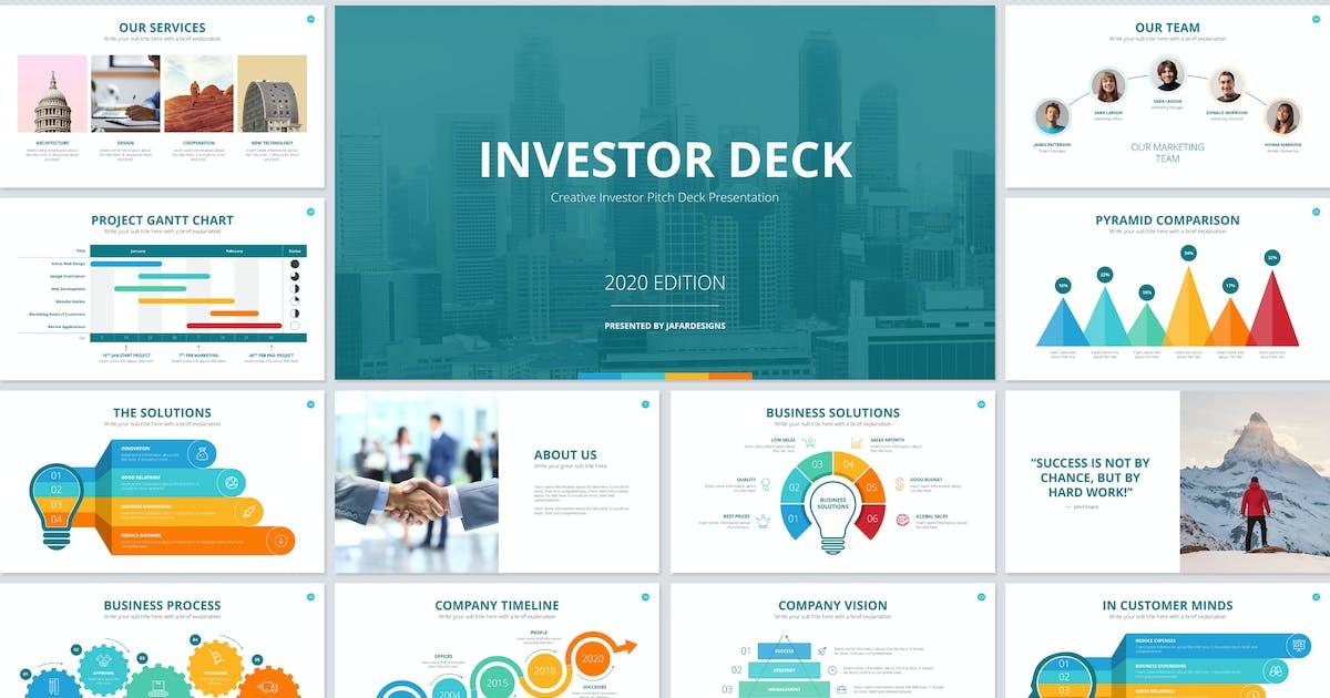 Download Investor Deck PowerPoint Template by JafarDesigns