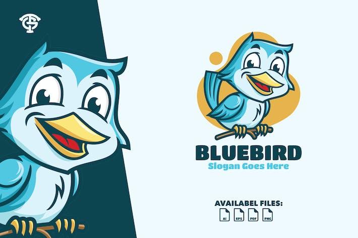Thumbnail for Blue Bird - Logo Mascot