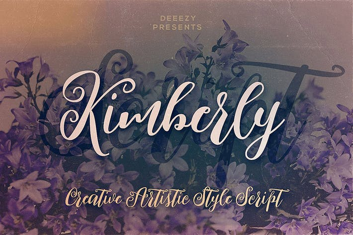 Thumbnail for Kimberly Script Font